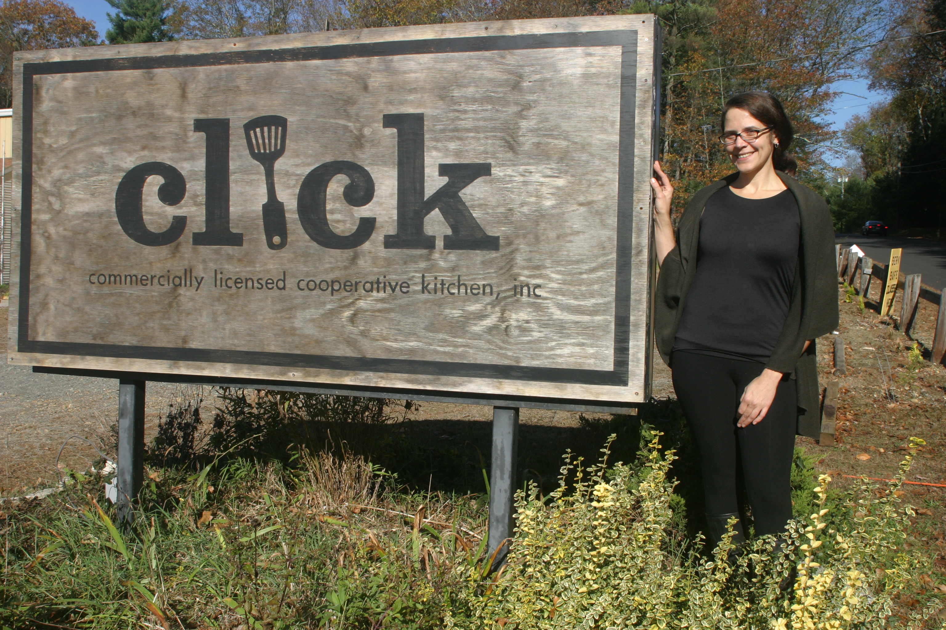 Rachael LaPorte, kitchen manager of CLiCK